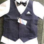 Wedding Suit for Boys Children Vest Pants 2 Pieces Formal Suit Red Gray Boys Spring Summer England Style Kids Blazer Suits photo review