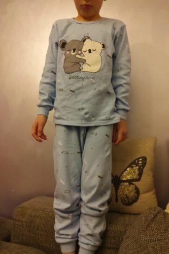 2021 Kids Cotton Pajamas Sets Winter Baby Girls Boys Clothes Cartoon Children Sleepwear Long Sleeve Tops Pants Kids Pyjamas Set photo review