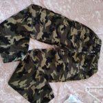 Camouflage Boys Trousers Boys Pants Casual Cotton Print Mid Elastic Waist Harem Kids Pants Boy Children Pants Blue Green Army photo review
