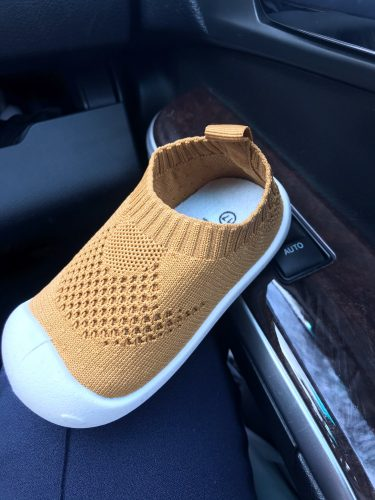 New Baby Walking Shoes for Infant Toddler Shoes Girls Boys Casual Mesh Shoes Soft Bottom Non-slip Kid Baby First Walkers Shoes photo review