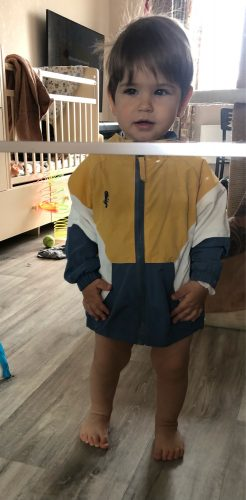 2021 Spring Children Jackets for Boys Hooded Patchwork Kids Boy Outerwear Windbreaker Autumn Casual Children Coats Clothing 2-6Y photo review