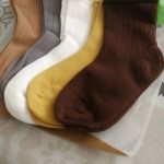 5pairs/lot 1-12 Years Spring Autumn Children Socks Baby Girls Cotton Short Sock Newborn Ribbed Solid Color Boys Socks photo review