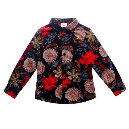 Boys shirt children's clothing new 2020 spring and autumn long-sleeved shirt cotton lattice sanded shirt printed baby clothes photo review