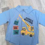 DIIMUU Spring&Autumn Fashion Kids Baby Boys Cotton Shirt Child Boy Plaid Shirts Clothing Children Casual Tops Clothing photo review