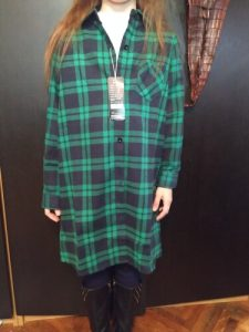 Kindstraum 2020 New Blouse Long Girls Plaid Shirts High Cotton Children Buttons Clothes Autumn Full Length Wear for Kids,DC177 photo review