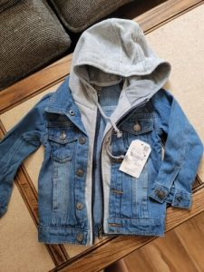 Kids Denim Jacket 2021 Boys Jean Coat Clothes Fashion Casual Boys Cardigan Children's Outdoor Cowboy Clothing Toddler Hoodies photo review