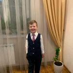 Children's Formal 4pcs Suit Sets Flower Boy Wedding Party Prom Birthday Dress Costume Kids Blazer Vest Shirts Pants Outfits photo review