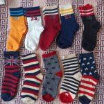 Kids Cotton Socks Children Autumn Winter Girls Polka Dots Toddlers Boys Sport Strips Footwear 5 Pairs Cheap SandQ Baby New photo review