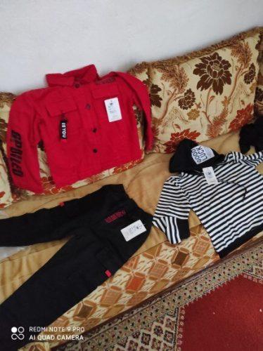 Boy Denim Jacket 2021 Spring Autumn Jeans Jacket for Kids Korean Clothes Children Jacket Toddler Baby Clothing Outwear coats photo review