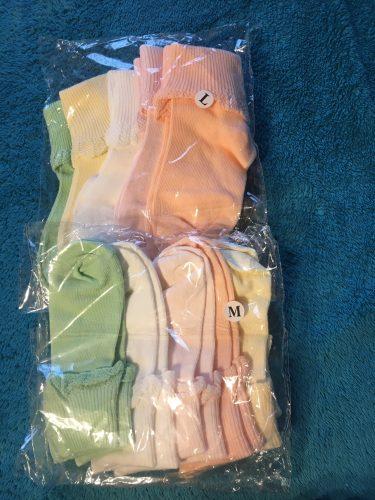 Lawadka 10 Pieces/lot=5Pairs Cotton Kids Socks Fashion Sport Short Socks Baby Girls Socks photo review
