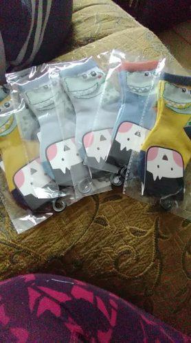 5 Pairs/Lot Breathable Socks Cartoon Dinosaur Fashion Baby Boys Girls Socks 1-9 Years Chidlren Autumn Winter Soft Cotton Socks photo review