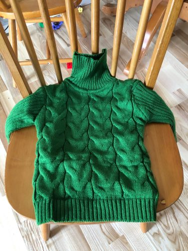PHILOLOGY 2T-8T pure color winter boy girl kid thick Knitted bottoming turtleneck shirts solid high collar pullover sweater photo review