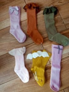 Baby Girl Socks Autumn Knee High Princess Socks for Girl Sweet Cute Long Tube Kids Candy Color Bows Leg Warmer Baby Stuff 1-8T photo review