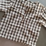 MILANCEL 2021 Spring New Kids Clothes Long Sleeve O-Neck Plaid Shirts photo review