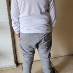 Boy Trousers Children Harem Pants Kids Autumn Winter Clothes for Baby Boys Pants black solid warm cotton size 90~150 toddlers photo review