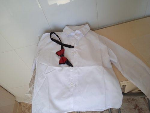 Spring Autumn Formal Children's Dress Suit Flower Boy Wedding Party Performance Costume Kids Blazer Vest Pants Clothes Set photo review