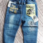 2020 Newest Spring and Autumn Children's trousers,Kids baby Letter stitching Pants boy's Casual Jeans photo review