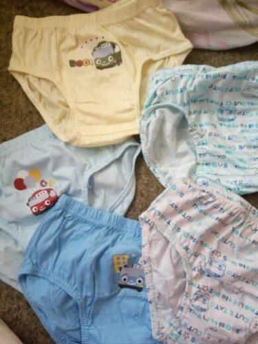 5 Pcs/Lot Children Underwear Cotton Panties For Boys Shark Cartoon Children Triangle Briefs Breathable Kids Briefs Boys Knickers photo review