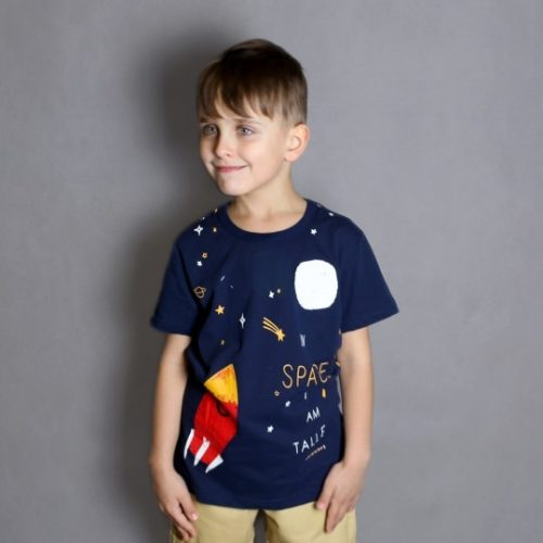 HH 2021 New Summer Boys T-shirt Cartoon Kids Short Sleeve T-shirts Children's Clothing Baby Boy Cotton Top Clothes For Teens photo review