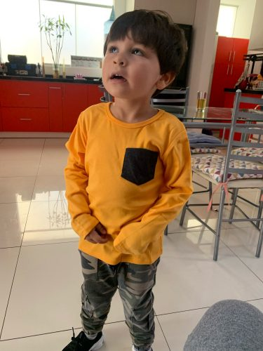 Teenager Baby T-shirt For Toddler Boys Girls Long Sleeve Tee Tops Soft Clothes Kids Long Sleeve T-shirt Cotton Tops Candy Color photo review