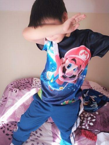 Boys Mario T shirt SuperMario Print Clothes Girls 3D Funny T-shirts Costume Children 2021 summer Clothing Kids Tees Baby Tshirts photo review