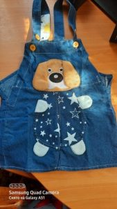 6M-4T Baby Boys Jeans Overalls Shorts Infant Toddlers Kids Denim Rompers Cute Dog Jumpsuit For Summer Children Clothes photo review