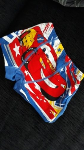 Disney car 2-7 years old Children's 100% cotton underwear boys underwear children's Underpants boy briefs McQueen knickers photo review