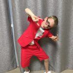 Toddler Boys Suit Summer Wedding Cotton Linen Blend Formal Boys Blazer Children Suit Fortnight Party Short Sleeve Petite Suits photo review