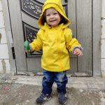 New 2021 Spring Autumn Child Kid Clothes Baby Girls Boys Double-Deck Windproof Waterproof Outwear Inner Polar Fleece photo review