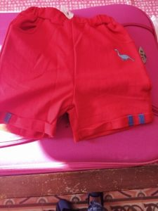 2021 Kids Boys Summer Fashion Beach Shorts Children Short Pants Kids Baby Boys Dinosaur Print Mid Waist Cotton Shorts Trousers photo review