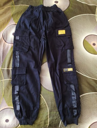 EACHIN Boys Pants Boys Pants Solid Cargo Pants Teenage Boy Multi-Pocket Trousers Kids Spring Autumn Boys Casual Pants Streetwear photo review