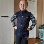 Children's Wear Boys Shirt Long Sleeve Autumn Wear Children's Casual Kids Striped Shirt 4-12 Ages Navy Blue White Kids Stripe photo review