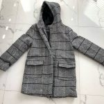 Young Boys Long Parkas Wool Hooded Coats Winter 2020 Kid's Boys Plaid Clothes Children Jacket Outfits Outwear for 6 8 9 10 Years photo review