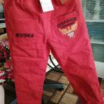 2021 Autumn Blue Letters Big Kids Jeans for A Boys Trousers Casual Elastic Waist Long Pencil Pants 4-16T Children's Clothes photo review