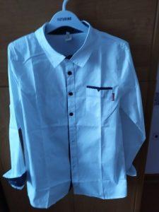 Teenage Boys Shirts School Shirt for Boys Turn Down Collar Shirt For Boys White Kids Teen Clothes 6 8 10 12 14 Year photo review