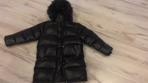 -30 Russian Winter Snowsuit 2020 Girls Clothes warm Down Jacket waterproof Outdoor hooded coat Boys Kids parka faux fur clothing photo review