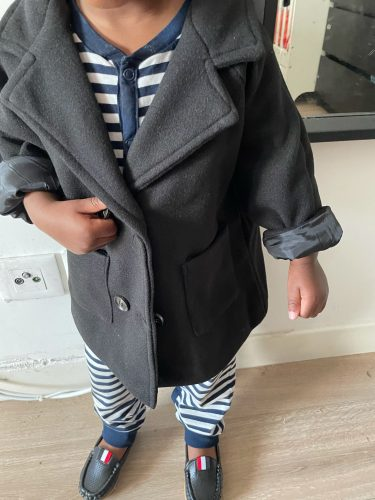 Baby boys Jacket Kids Fashion fall Coats Warm Autumn Winter Infant Clothing toddler Children's Jacket outwears2-8y photo review