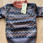 Autumn Winter Boy girl Pullover Sweater Kids Striped Ribbed Knitting Sweater Children Soft Clothes Boys Tops Outfit Clothing photo review