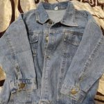 fashion girls full sleeve Single-breasted packet letter cartoon Smiley denim coat jacket toddler kids baby girl clothes 0-6Y photo review