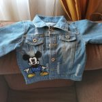 New Spring Children Denim Jacket Clothes Baby Boys Girls Cartoon Bear Coat Kids Infant Cotton Clothing Toddler Casual Costume photo review