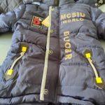 Boy Down Jacket 2020 Winter Warm Baby Boys Star Hooded Wear Down Jacket Children Outerwear Kids Zipper Jacket Coat2-5 years old photo review