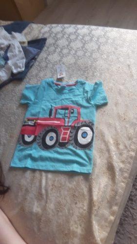 Cotton Boys T-Shirt Kids Shirts Baby Boys Casual Short Sleeve Car Print T-shirt For Boy Summer Children Toddlder Tee Shirts Tops photo review