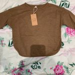 2021 Spring Children Long Sleeve T-shirts Korean Style Loose Baby Boys T-shirts Solid Color Kids Tops photo review