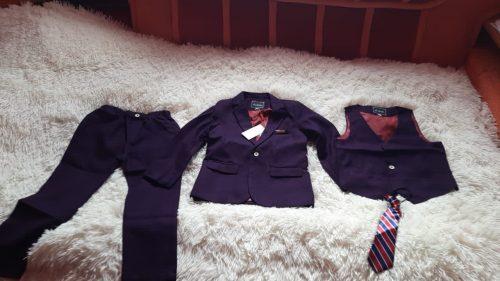 Flower Boys Formal Wedding Suit Kids Japan Style Jacket Pants Vest BowTie 4Pcs Tuxedo Suit Kids Party Host Costume photo review