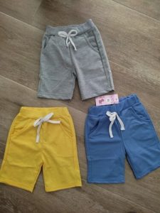 Hot Selling Solid 8 Colors Kids Trousers Children Pants For Baby Boys And Girl's Summer Beach Loose Shorts Retail size 80-150cm photo review