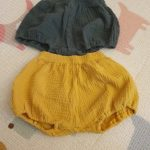 Summer Kids Boys Shorts Solid Color Baby Girl Shorts Cotton Linen Bread short Pants Fashion Newborn Bloomers 6 Months-4 Years photo review
