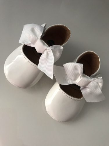 2021 Spring Baby Shoes PU Leather Newborn Boys Girls Shoes First Walkers Princess Bowknot Baby Prewalker photo review