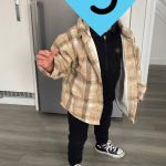 Fashion Boys Shirt New Plaid Style Kids Long Sleeve Shirts Children's Cotton Clothes Baby Boy Girls Thicken Blouses Velvet Tops photo review