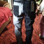 IENENS Kids Boys Loose Jeans Classic Cowboy Pants Children Denim Clothing Long Bottoms Baby Boy Casual Trousers photo review
