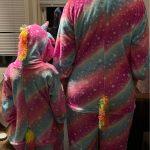 One Piece Hooded Jumpsuits for Adult Kigurumi Panda Pajamas Children's Unicorn Pajamas Licorne Stich Pijamas Onesies Kids photo review